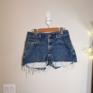 Levi's vintage tapered 550 relaxed fit shorts